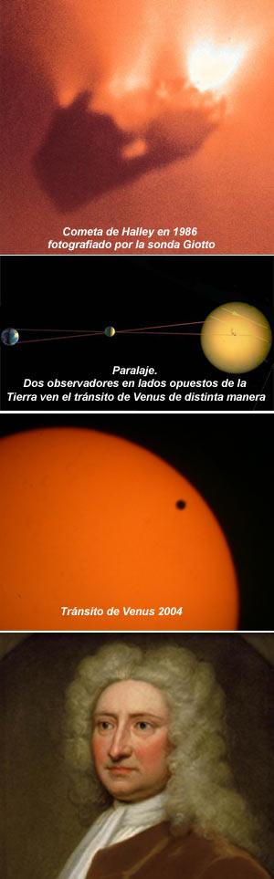 Cometa y tránsito de Venus