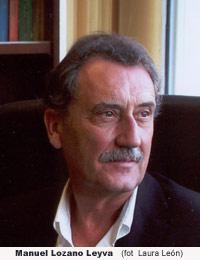 Manuel Lozano Leyva  (fotografía de Laura León)