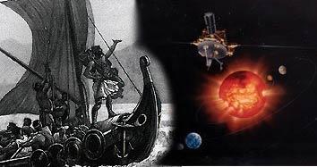 Ulises navega camino de Troya y Ulysses circunda al Sol.