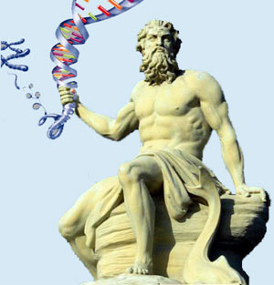 Poseidón y el ADN.