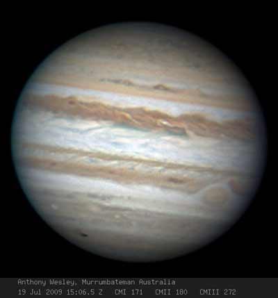 Impactos en Júpiter