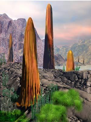 Prototaxites - Zoo de Fosiles - Cienciaes.com