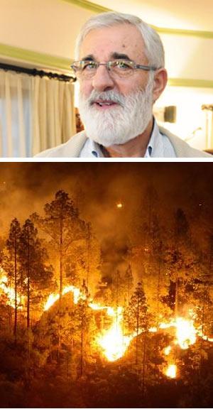 Fuego y cambio climático - Hablando con Científicos - Cienciaes.com