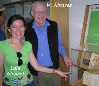 Laia Alegret, Ignacio Arenillas y José Arz
