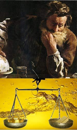 El juicio de Arquímedes - Ulises y la Ciencia podcast - Cienciaes.com