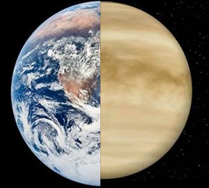 Tierra y Venus - Quilo de Ciencia podcast - Cienciaes.com