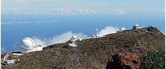 Diversos telescopios en el Roque de los Muchachos - CienciaEs.com