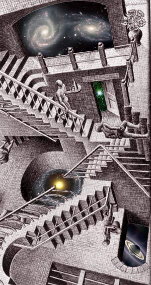 La escalera cósmica - Podcast El Neutrino - Cienciaes.com