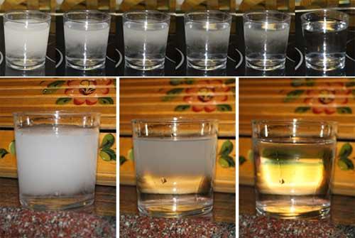 Agua blanca
