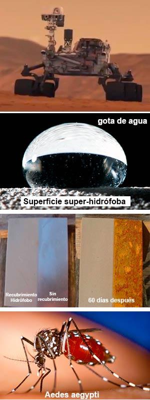 Bacterias a Marte. Materiales super-hidrófobos. Chikungunya. Ciencia Fresca podcast - Cienciaes.com