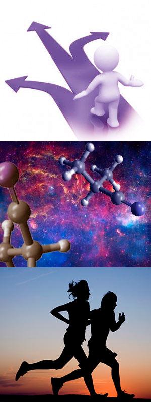 Decidir al azar. Moléculas en el Cosmos. Ejercicio contra la depresión - Ciencia Fresca podcast - Cienciaes.com