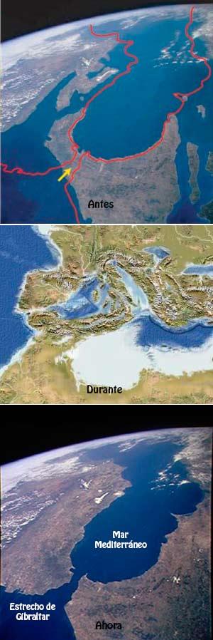 La inundación del Mediterráneo. Podcast El Neutrino - CienciaEs.com