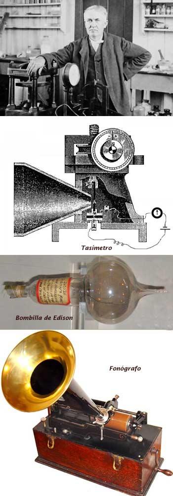 Edison y sus inventos
