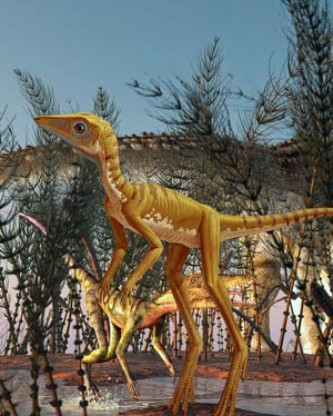 Scleromochlus - Podcast Zoo de Fósiles - CienciaEs.com