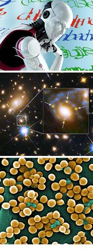 Inteligencia artificial. Cruz de Einstein- Ciencia Fresca podcast - CienciaEs.com