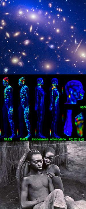 Materia oscura. Moléculas en la piel - Ciencia Fresca Podcast - CienciaEs.com