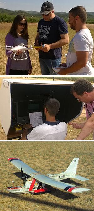Aplicaciones  y pilotaje de drones. - Hablando con Científicos podcst - CienciaEs.com