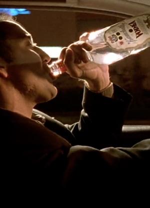 El pinchazo del alcoholismo zaporozhe