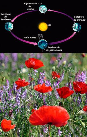 Equinoccio de primavera - podcast El Neutrino - CienciaEs.com