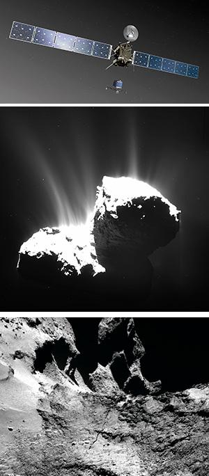 Científica y Rosetta - Hablando con Científicos podcast - CienciaEs.com