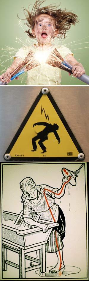 Descarga eléctrica - Ciencia Nuestra de cada dia