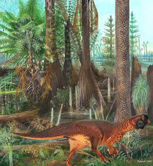 Psittacosaurus - Zoo de Fósiles - CienciaEs.com