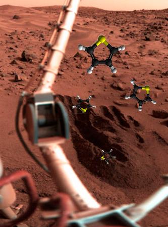 Marte contiene moléculas orgánicas - Quilo de Ciencia - CienciaEs.com