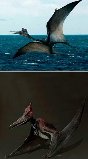 Pteranodon - Zoo de Fósiles podcast - CienciaEs.com