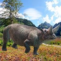 Arsinoitherium - Zoo de Fósiles - CienciaEs.com
