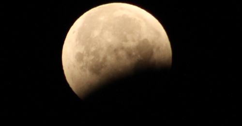 Un momento del eclipse 21/01/2019 - CienciaEs.com