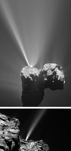 Partículas cometarias - Hablando con Científicos podcast - CienciaEs.com