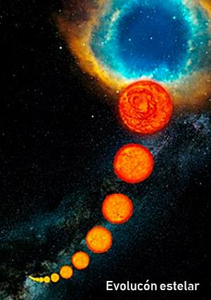 Estrellas masivas ricas en carbono - Hablando con Científicos podcast - cienciaes.com