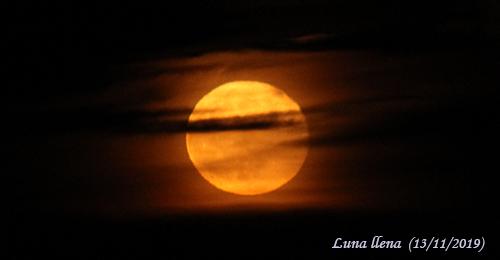 Luna llena 13/11/2019 CienciaEs.com