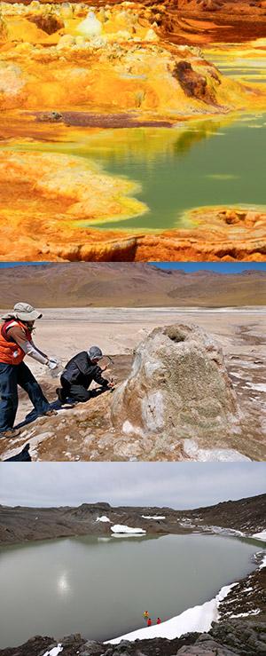 Vida en ambientes extremos - Hablando con Científicos - CienciaEs.com