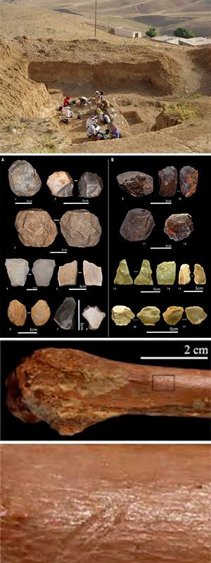Herramientas 2,4 millones de años en el Norte de Africa. Hablando con científicos podcast - CienciaEs.com
