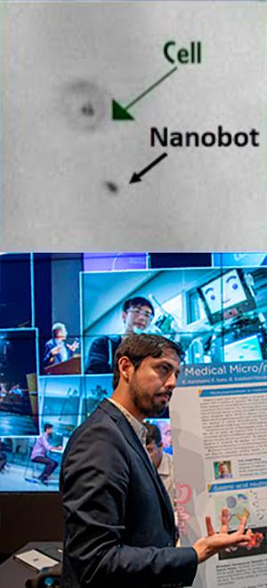 Nanorrobots y nanomotores. Hablando con Científicos podcast - CienciaEs.com