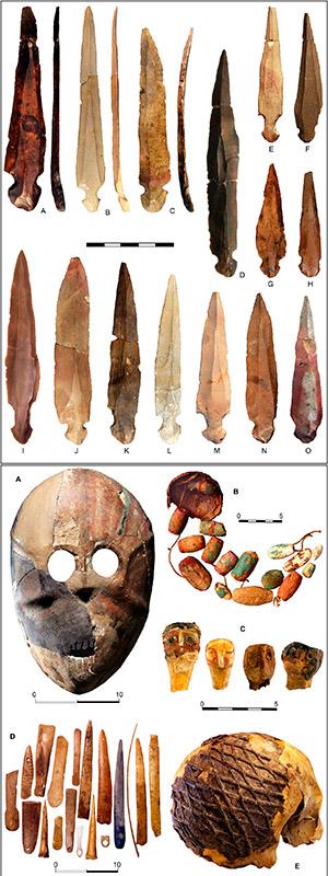 Cuchillos líticos de 10.000 años - Hablando con Científicos - Cienciaes.com
