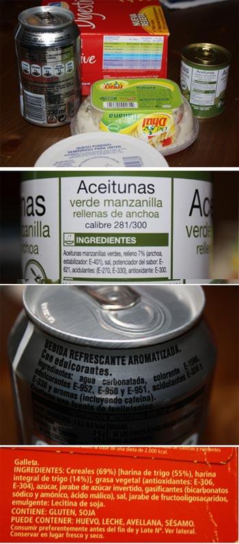 Aditevos alimentarios