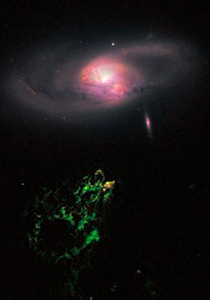 Núcleos galácticos activos - Hablando con Científicos podcast - Cienciaes.com