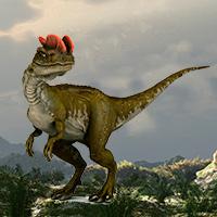Dilophosaurus - Zoo de Fósiles podcast - Cienciaes.com