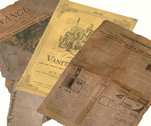 Periódicos viejos