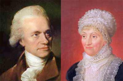William y Caroline Herschel