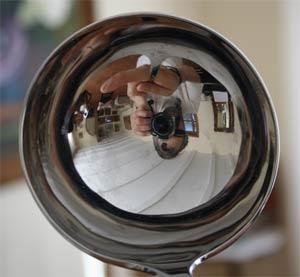 Imagen en un cucharón