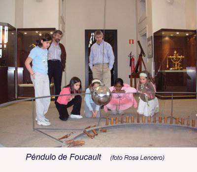 Péndulo de Foucault.